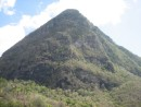 Just another view of Gross Piton, as we dine