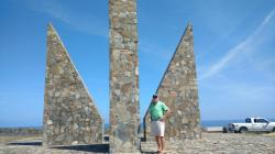 Millennium Monument: One th eastern end of St. Croix