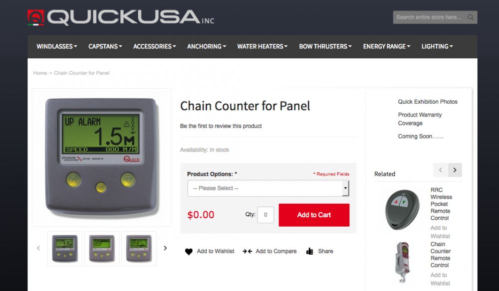Chain Counters - Any Experiences?? - Cruisers & Sailing Forums