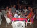 Our Sea Era 00137: Dinner with friends at Broschetta Restaurant in Mazatan