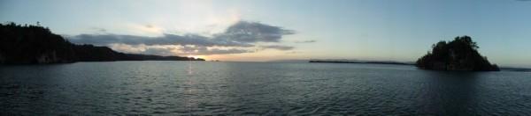 Los Haitises anchorage