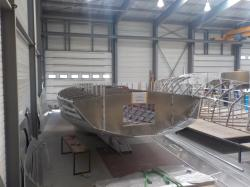 The new hull
