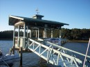 Our dock in Beaufort