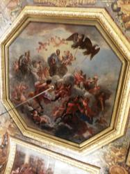 Elaborate paintings even on the ceiling