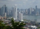 Panama City form Ancon Hill,  the highest point in the city