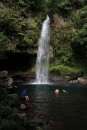 Taveuni,  the Garden Island,  gets more rainfall than any other island in Fiji.  The landscape is lush with many waterfalls to tempt you.