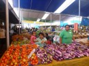 The capital of Suva has a huge market where fruits and veggies of every kind can be found at excellent prices