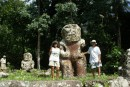 The largest Tiki in the Marquesas at 2 meters tall.