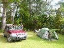 One of our first campsites