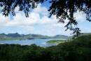 Hilltop view of Huahine