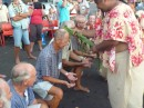Tahitian blessing of the fleet captains