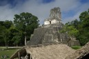 Tempe II,  Temple of the Masks or Faces,  built to honor the wife of ruler Ah Cacao