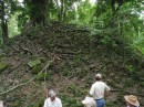 Under this mound of jungle probably sits a tomb or home of a royal court member waiting to be excavated.