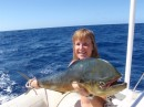 Mahi Mahi caught on the way to Pitcairn