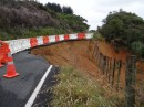 "a ""slip"". NZ land is constantly in motion- roads fall away frequently due to the unstable soft volcanic  ash soil."