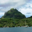 near Bora Bora Yacht Club