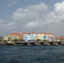 Curacao - Willenstad waterfront and moveable bridge