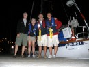 Aisling Crew lands in Baiona