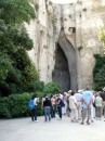"""The Ear of Dionysius""- a cave near the quarry, with unusual acoustics"