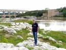 Rick at Pont du Gard