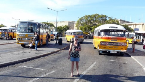 The infamous Malta buses