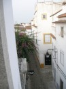 View from our room in Evora