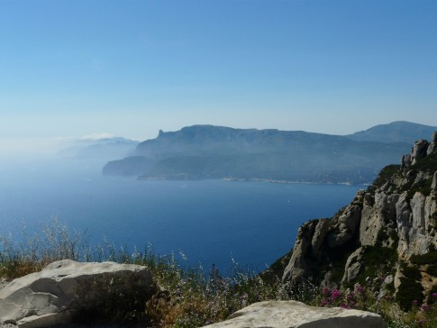 South coast of France looking West from La Ciotat