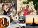 Chania town collage