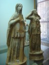 Mourning figurines found in burial tombs; displayed in Chania Archaeological museum
