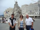 Atillio, Maria and Craig in Trieste