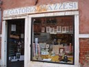 The oldest paper shop in Venice; 14 artists still do the printing by hand!