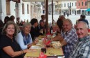 Trattoria lunch stop in the Campo San Margherita