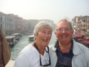 Pat & Keith Boothby on the Ponte Rialto