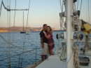 Jen and Sam arrive Kos and cruise Greece & Turkey aboard Sangaris