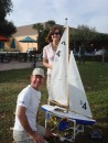 Sandra and Chris from s/v Deep Blue visit FL and join the race