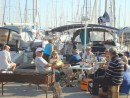 Cruisers BBQ at Marina Messolonghi