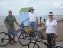 Craig, Ted & Maria - cycling day to Tourlida