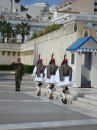 More of the much-photographed evzones, the presidential guards; ceremonies outside Parliament every hour on the hour