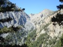 Rugged elevation; 500 meter cliffs