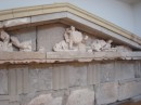 "re-assembly of pediment from ""Temple of Zeus"" ~ quite spectacular tho far from complete"