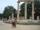 Sangaris crew at ancient Olympia