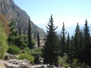 scenery surrounding the archaeological site at Delphi