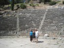 well preserved 4th century BC theatre