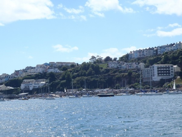 Leaving Brixham....great little town full of life.