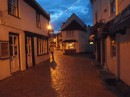 Lymington town at Dusk
