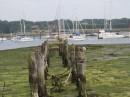 Hamble - old port pier