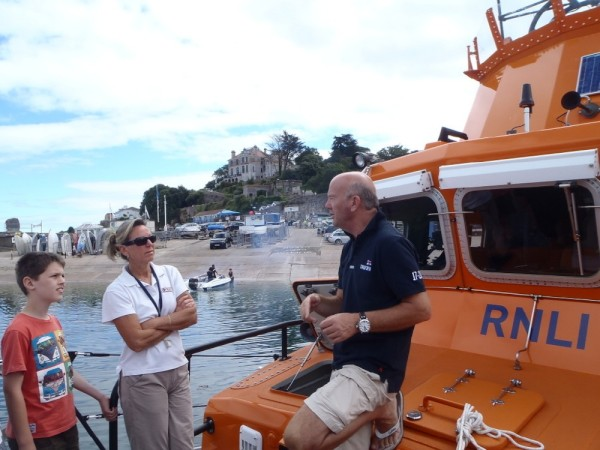 Simon...walking us through the Lifeboat drill