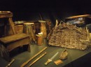 Mary Rose -  tools of daily life, baskets shoes, jugs