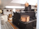 HMS Warrior...Galley..not much changed in 100 years since HMS Victory