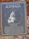 "Commander Matthew Phillips first charted Terra Australis bewteen 1801 and 1803 and name the continent ""Australia"""